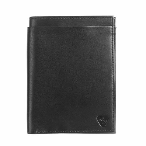 Lewis N Clark RFID Blocking Deluxe Leather Passport Wallet Black