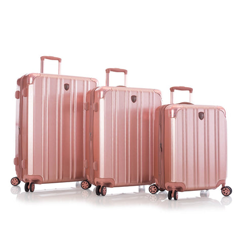 Heys DuoTrak 3pc Spinner Luggage Set