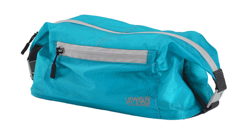 Lewis N Clark Electrolight Toiletry Kit Bright Blue