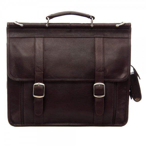 Piel Leather European Briefcase
