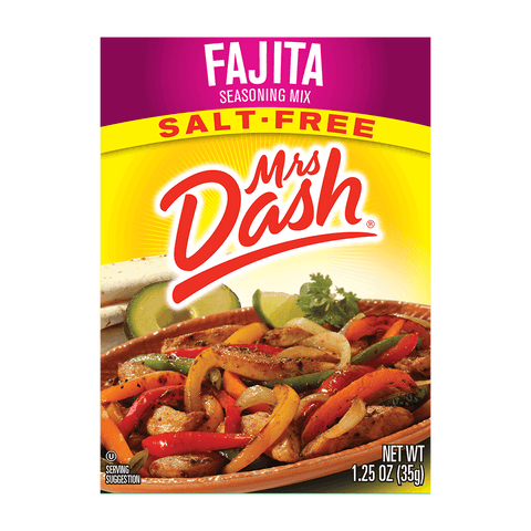 Mrs Dash Salt-Free Fajita Seasoning Mix 1.25 Oz
