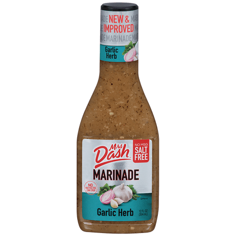 Mrs Dash Salt Free Garlic Herb Marinade 12 Oz Bottle