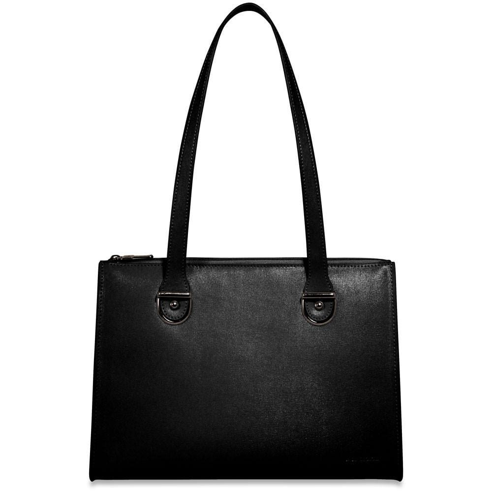 Jack Georges Chelsea Collection Large Shoulder Bag Black