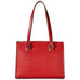 Jack Georges Chelsea Collection Large Shoulder Bag Red