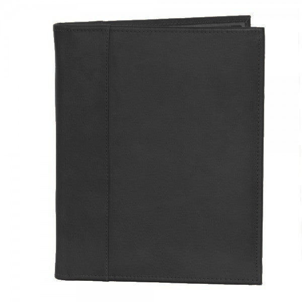 Piel Leather Letter Size Padfolio with Organizer Assorted Colors