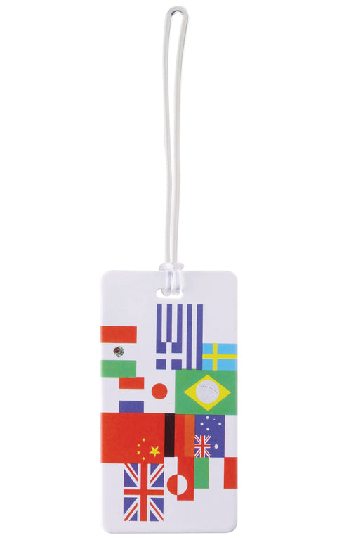Lewis N Clark International Flag Luggage Tag Multi