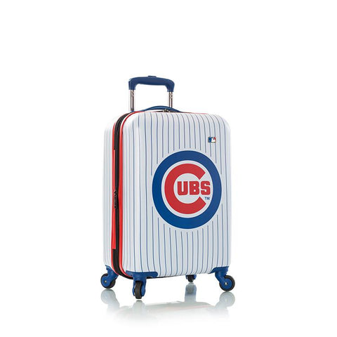 "Heys MLB 21"" Chicago Cubs Carry On Spinner Luggage"