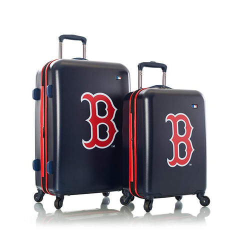 Heys MLB 2pc Boston Red Sox Spinner Luggage Set
