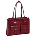 McKlein USA Alexis Leather Fly Through Checkpoint Friendly Ladies Briefcase Assorted Colors