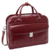 McKlein USA Lakewood Leather Fly Through Ladies Briefcase Assorted Colors