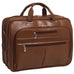 "McKlein USA Rockford 15.6"" Leather Fly Through Checkpoint Friendly Laptop Briefcase Assorted Colors"