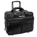 "McKlein USA Roosevelt 17"" Leather Detachable Wheeled Laptop Briefcase with Removable Sleeve"