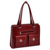 "McKlein USA Verona 15.4"" Leather Fly Through Checkpoint Friendly Ladies' Laptop Briefcase Assorted Colors"