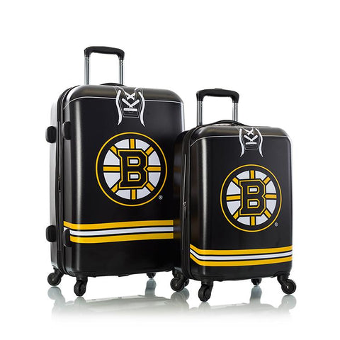 Heys NHL 2pc Boston Bruins Spinner Luggage Set