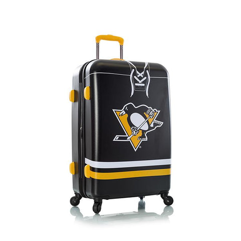 "Heys 26"" Pittsburgh Penguins Spinner Luggage"