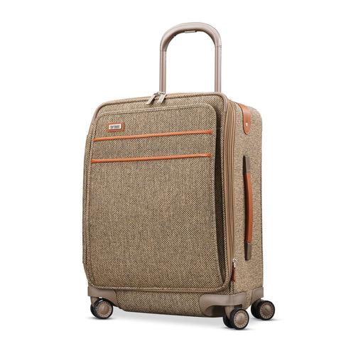 "Hartmann Tweed Legend 21"" Domestic Carry On Expandable Spinner Natural Tweed"