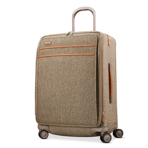 "Hartmann Tweed Legend 26"" Medium Journey Expandable Spinner Natural Tweed"