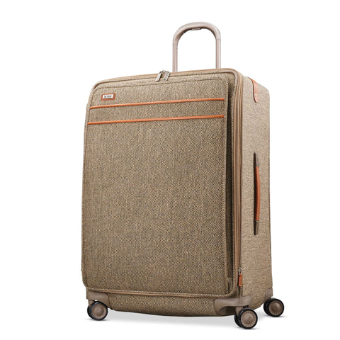 "Hartmann Tweed Legend 30"" Extended Journey Expandable Spinner Natural Tweed"