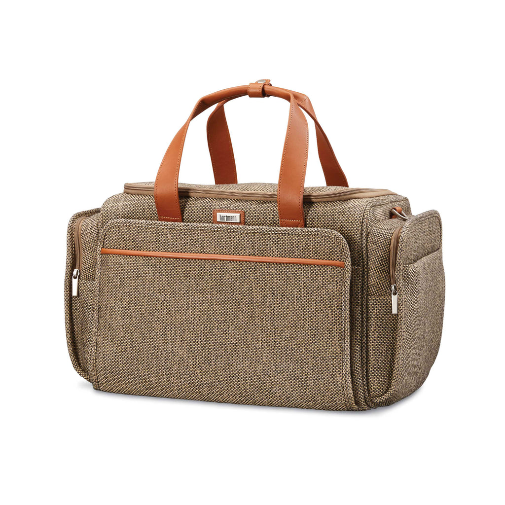 "Hartmann Tweed Legend 21"" Travel Duffel Natural Tweed"