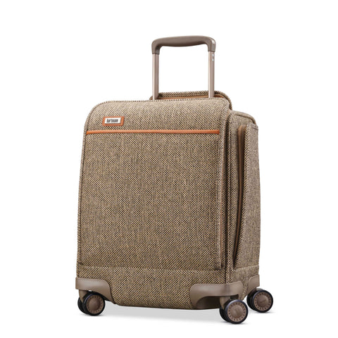 "Hartmann Tweed Legend 17"" Underseat Carry On Spinner Natural Tweed"