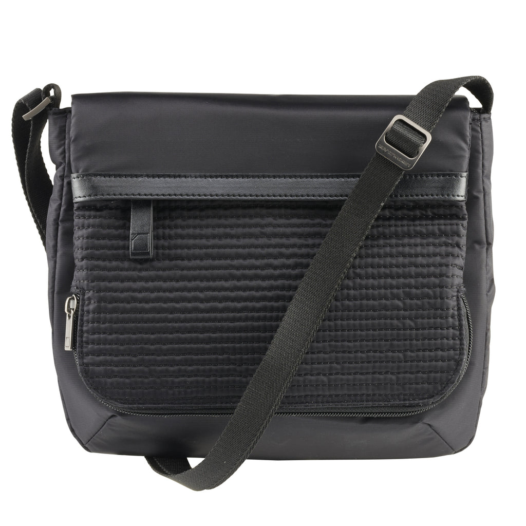 Lewis N Clark WEA RFID Blocking Mini Crossbody Black