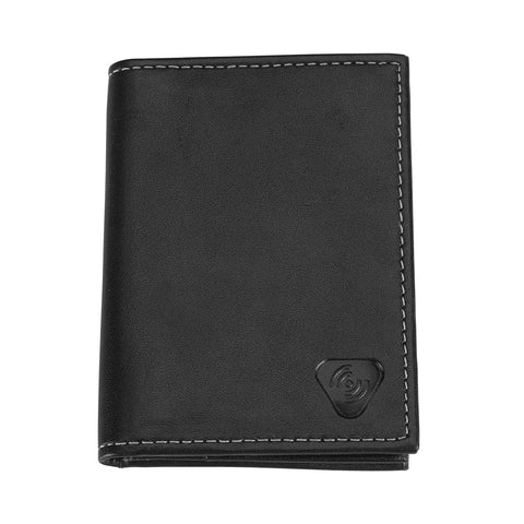 Lewis N Clark RFID Blocking Leather Card ID Holder Black