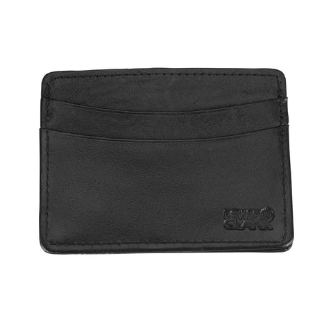 Lewis N Clark RFID Blocking Leather Credit Card Holder Black