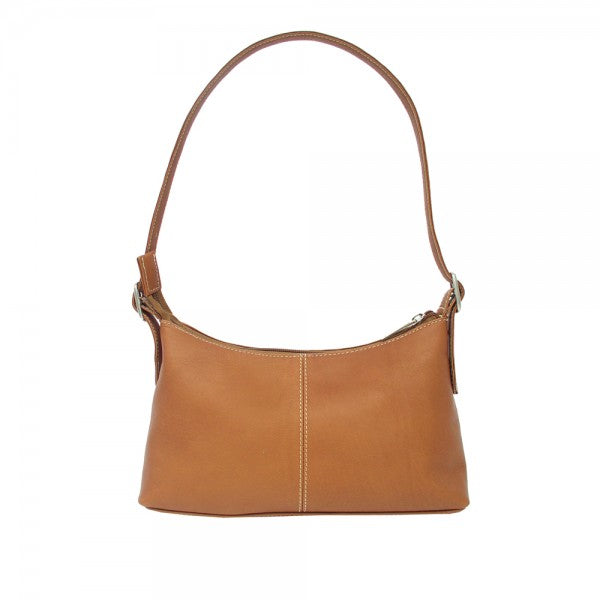 Piel Leather Mini Shoulder Bag Assorted Colors