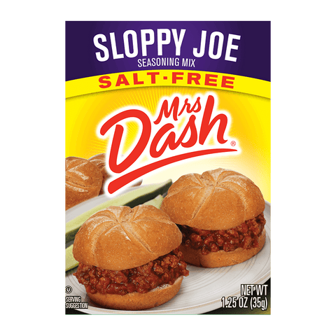 Mrs Dash Sloppy Joe Seasoning Mix 1.25 Oz