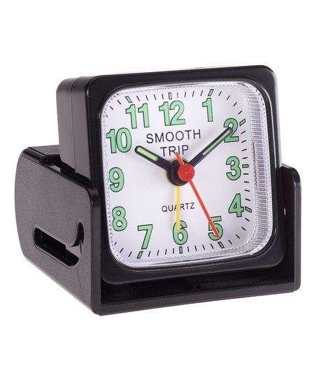 Smooth Trip Night View Travel Alarm Clock