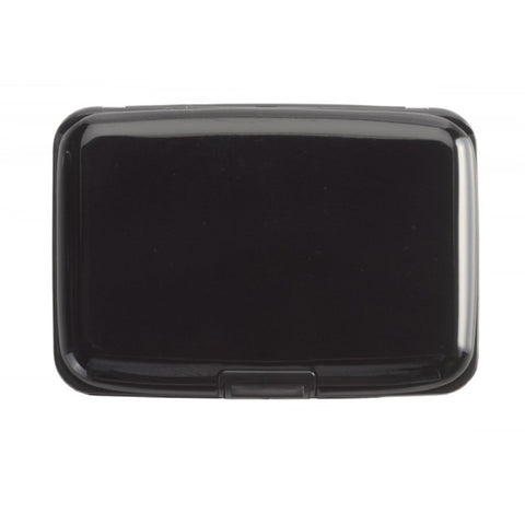 Smooth Trip RFID blocking aluminum card case black