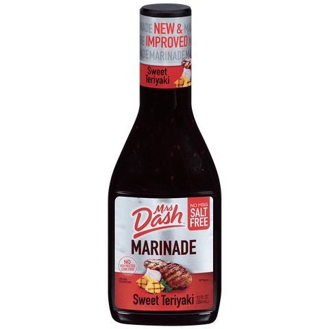 Mrs Dash Salt Free Sweet Teriyaki Marinade 12 Oz Bottle