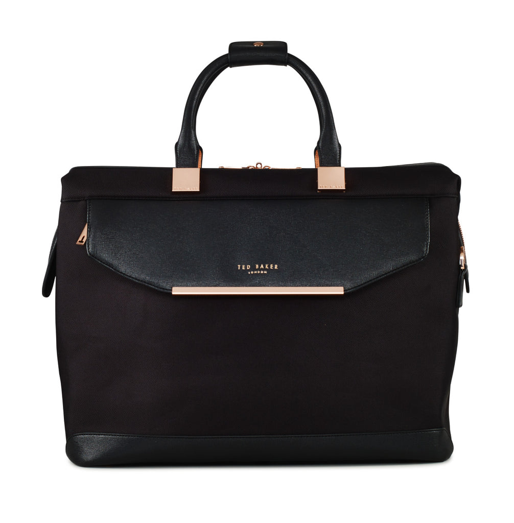 Ted Baker Womens Albany Black Softside Holdall Bag