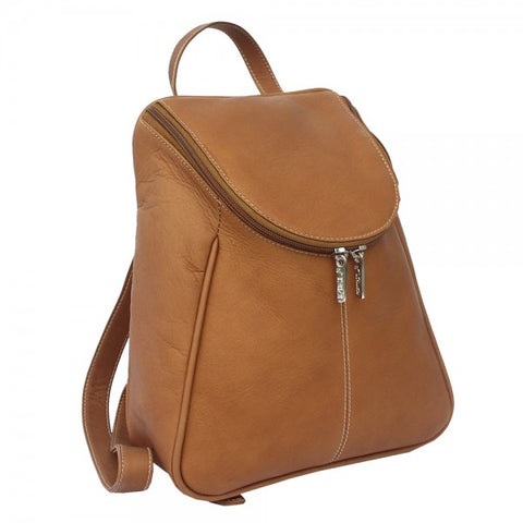 Piel Leather U Zip Backpack Assorted Colors