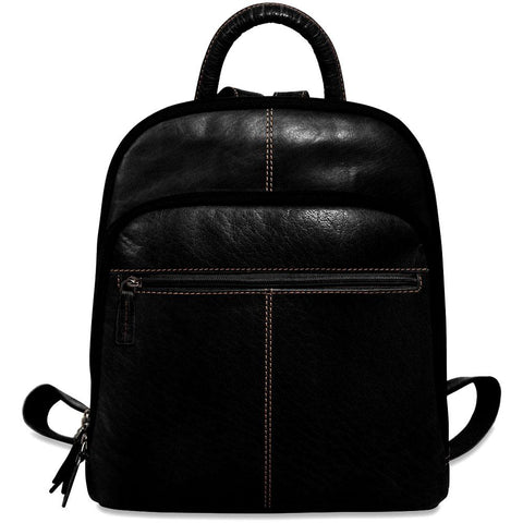 Jack Georges Voyager Collection Small Backpack Black