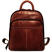 Jack Georges Voyager Collection Small Backpack Brown