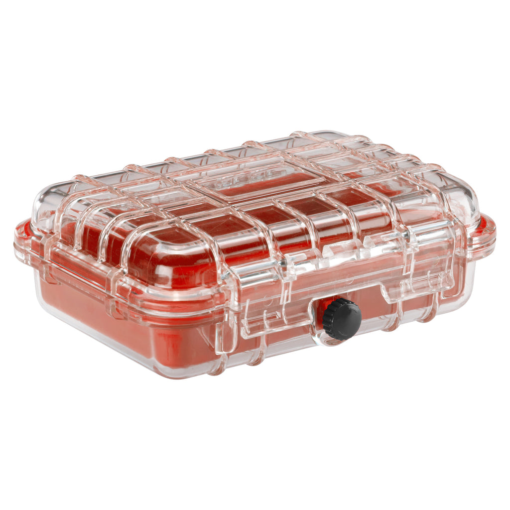 Lewis N Clark WaterSeals Waterproof Medium Hard Case Red