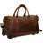 Jack Georges Voyager Wheeled Duffel Bag Brown