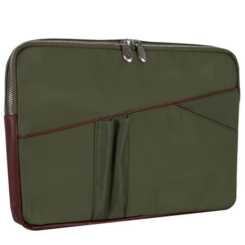 "McKlein USA Auburn 15"" Nylon Laptop Sleeve Assorted Colors"