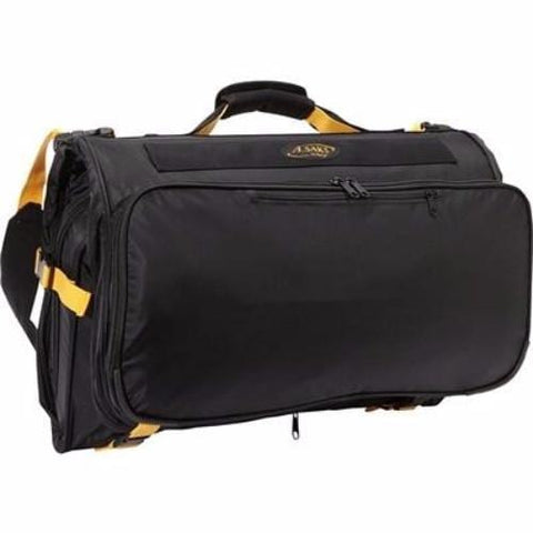A.Saks Compact Expandable Trifold Carry On Garment Bag
