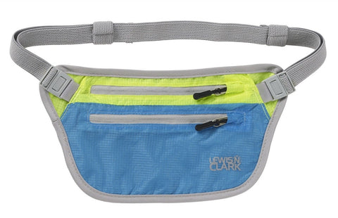 Lewis N Clark Electrolight Waist Stash Bright Blue Lemon