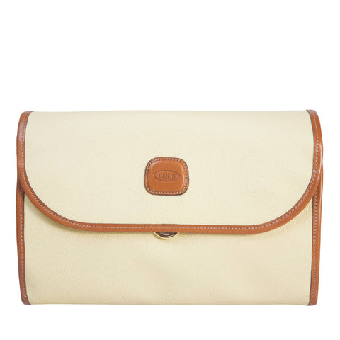 Bric's Firenze Tri-Fold Traveler Cream