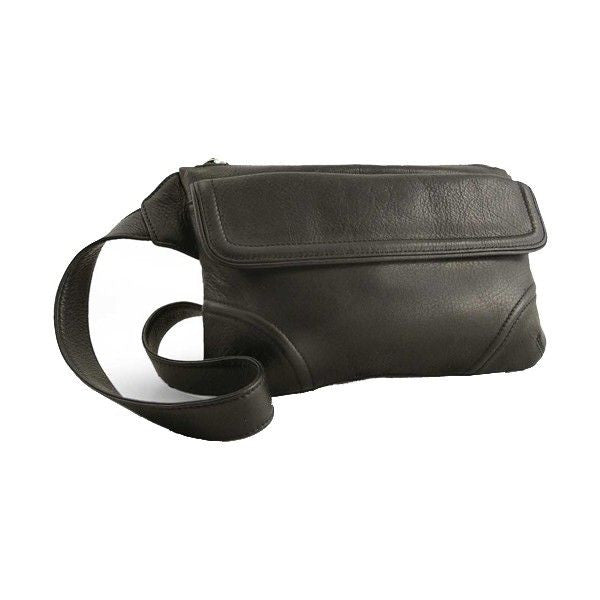 Osgoode Marley Slim Cashmere Leather Waist Pack