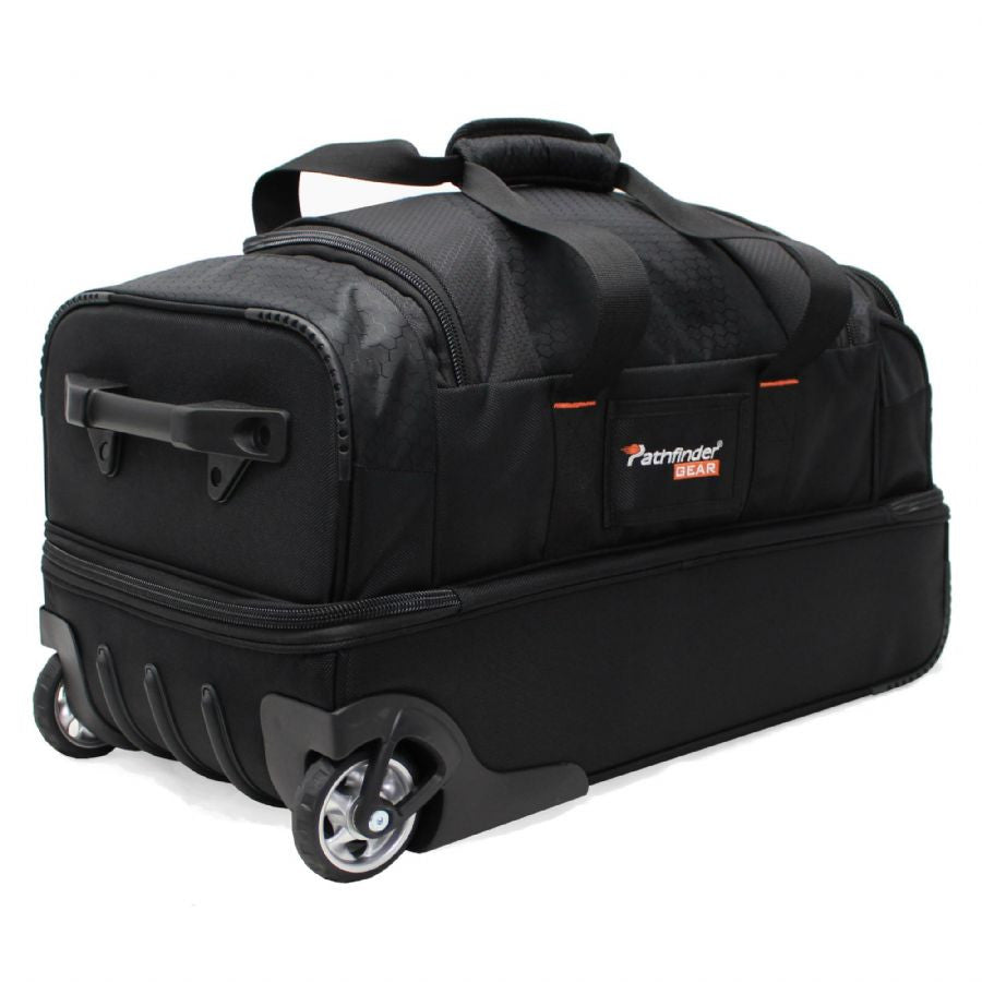 "Pathfinder Gear Up Collection 22"" Drop Bottom Duffel Black"