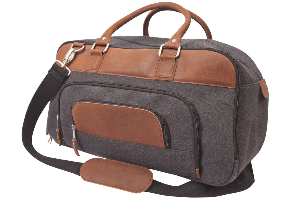 Canyon Outback Brody Wool Duffel Charcoal