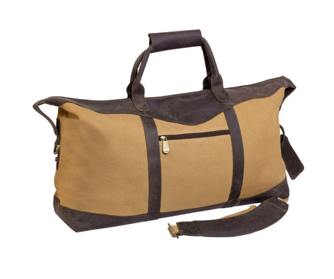 "Canyon Outback Utah Canyon 22"" Canvas Duffel Beige"