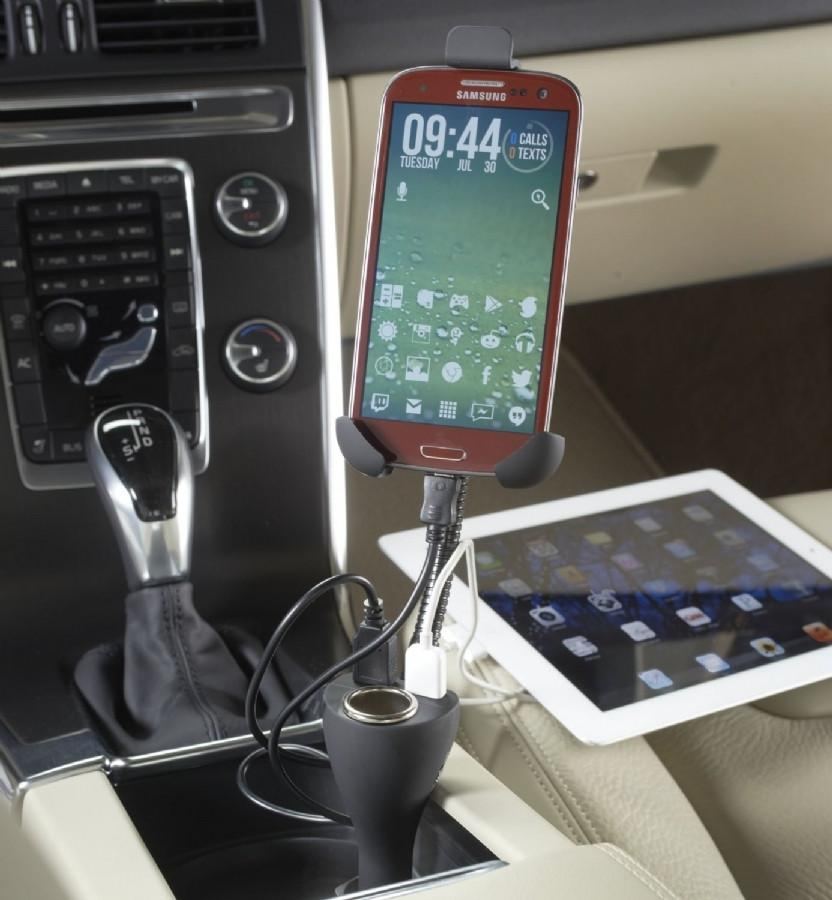 Smooth Trip Charge n Ride Smartphone Holder