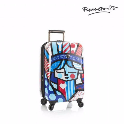 "Heys Britto Freedom 21"" Carry On Spinner Multicolor"