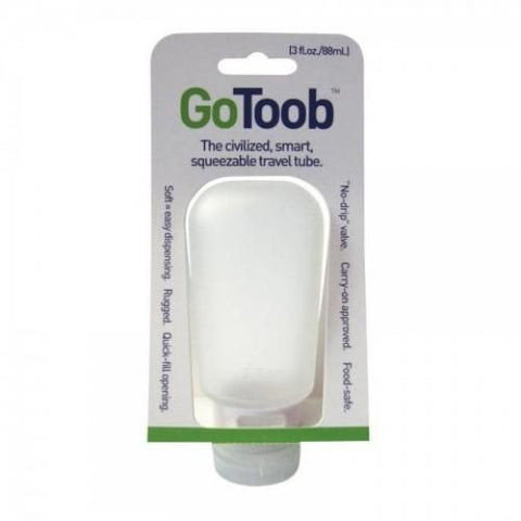 Humangear 3 Oz. Squeeze Tube Go Toob Clear