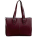 Jack Georges Milano Collection Madison Avenue Business Tote Cherry